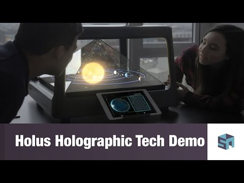 Holus Holographic Video Game Tech Demo