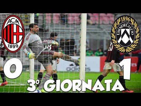 AC MILAN - UDINESE 0-1 • SQUADRA SENZA PALLE!!! [SFOGO DI UN TIFOSO ROSSONERO!!!]