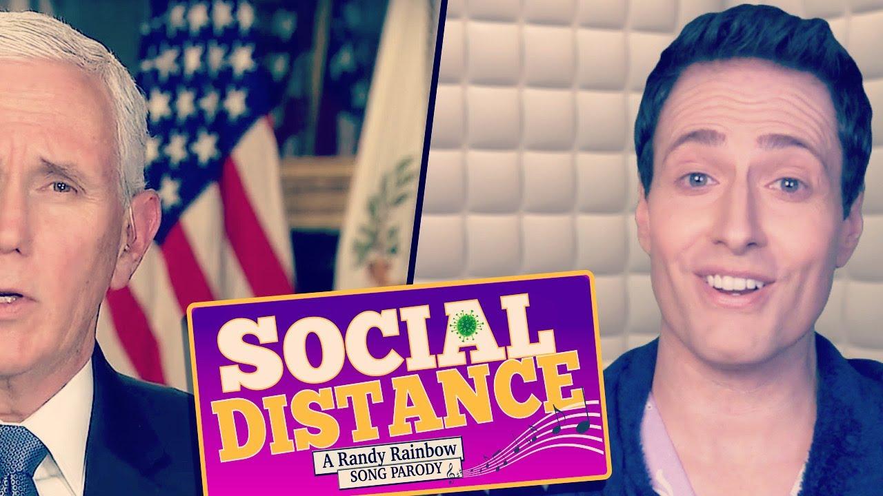 Social Distance A Randy Rainbow Song Parody Youtube