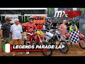 Motocross Video for Parade Lap with Legends - MXGP of Italy 2021