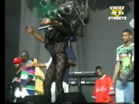 NOTORIOUS BIG AND LIL KIM - GET MONEY LIVE [RARE FOOTAGE]!!