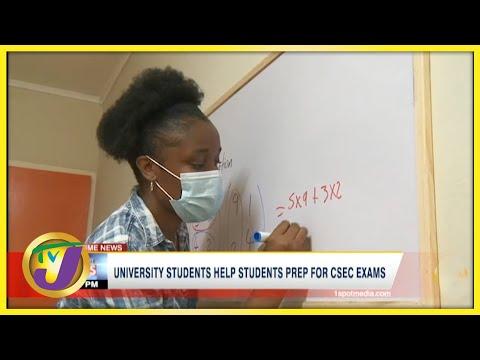 University Students Help High School Students Prep for CSEC Exams | TVJ News - June 28 2021
