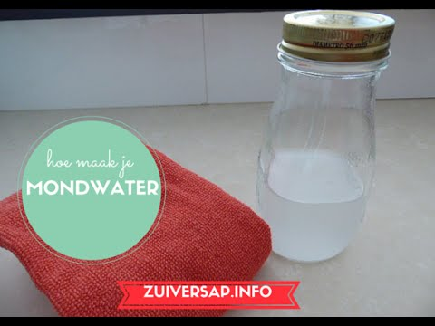 Bekend Zuiversap | Mondwater | Recept | Vegan - YouTube @RU87