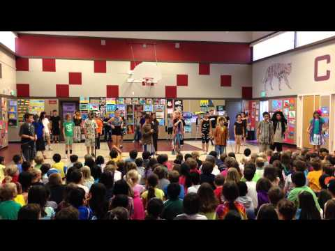 Lion King at Cipriani Elementary