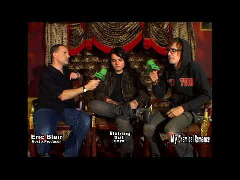 My Chemical Romance & Eric Blair talk their music career 2004
