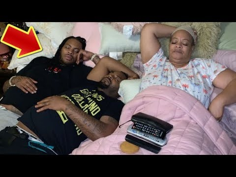 Waka Flocka's Wife Catch Him And His Brother Snoozing In ...