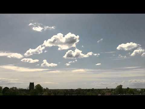 Cloud timelapse - 60x