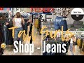 Jeans Shopping Haul | Tall Girl | Supermarket clothing | Shop with me | Tesco F and F | SheSo Styles