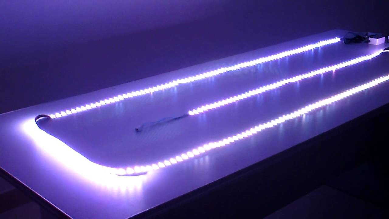 Rgb multi color changing led strip lights with controller youtube mozeypictures Images
