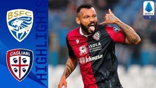 Brescia 2-2 Cagliari | Doppiette di Torregrossa e Joao Pedro, rosso a Balotelli | Serie A TIM