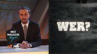 Eier aus Stahl: Tom Beck und andere YouTube-Manager | NEO MAGAZIN ROYALE mit Jan Böhmermann - ZDFneo