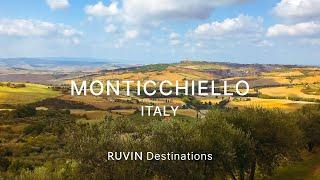Monticchiello | Walking Tour in 4K [2019]