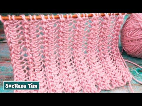 Спицами красивые шарфы женские