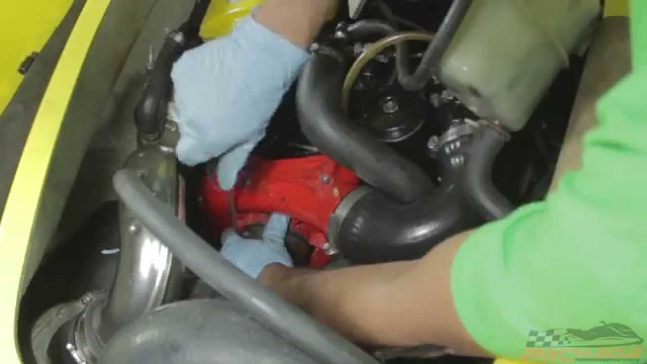 Sea-Doo RXP Supercharger Removal - By PWC Muscle