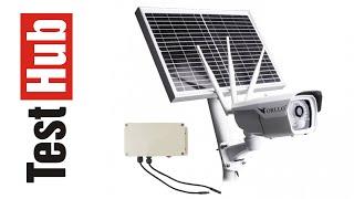 ORLLO CAMSIM-2S - Solarna Kamera Zewnętrzna GSM LTE z zasilaniem słonecznym