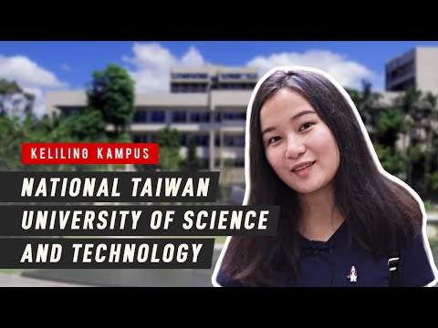 Keliling KAMPUS NTUST!! National Taiwan University of Science and Technology