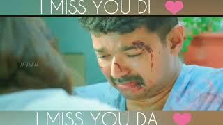 theri heart touching scene / what's app status video