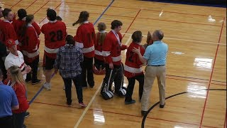 Adapted Floor Hockey (CI) State Tournamet Highlights 2018