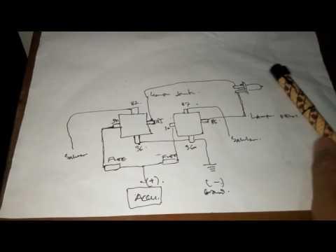 Cara Memasang Relay Lampu Motormobil Dengan Mudah Youtube
