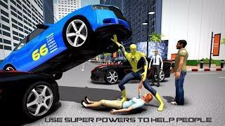 Flying Spider Hero Game City Battle 2017 | Flying Spiderman Hero Survival | Android Gameplay