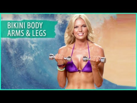 Sculpted Bikini Body Workout: Arms & Legs- Surfer Girl