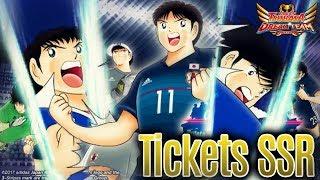 ¡¡ABRIENDO los TICKETS SSR de SAMURAI BLUE!! - Captain Tsubasa: Dream Team