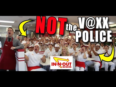 """""""We are NOT the V@xx Police!"""" In-N-Out Burger Stands Against Passports"""