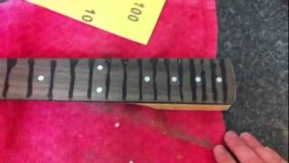 HOW TOO FRETLESS GUITAR NECK CONVERSION PT 3