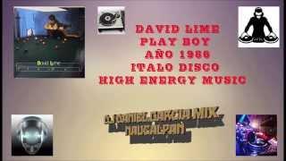 DAVID LIME PLAY BOY ITALO DISCO