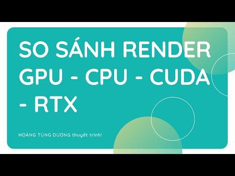 ✅ So sánh Render GPU RTX 2080 Ti, RTX 3080, RTX 3090, CPU Dual E5 2670 v2 3dsmax Vray, Cuda