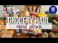 Fred Meyer & Walmart Grocery Haul | Meal Plans | WW Freestyle