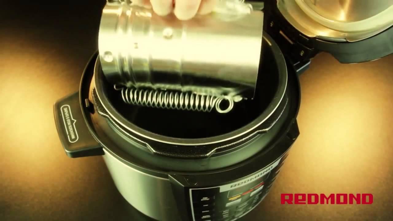 Ветчина рыбная с креветками в мультиварке-скороварке Redmond RMC-M110