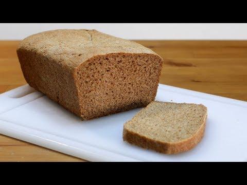 How to Make Whole Wheat Bread   Easy Homemade Whole Wheat Bread Recipe