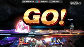 Come on and Ban #39 - Winner Ro64: T17|SuperOven (Luigi) vs 8BIT|THREE (Falco)