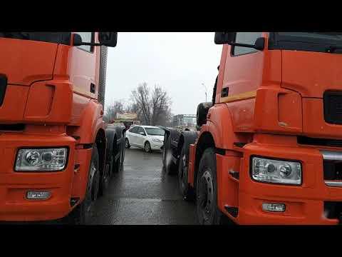 видео: Новые 4х-осные КАМАЗЫ