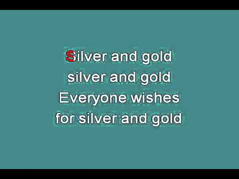 SILVER AND GOLD 715091 [karaoke]