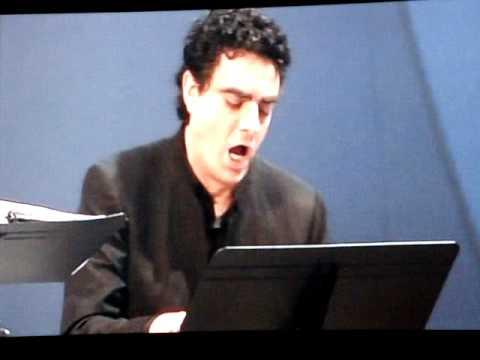 Rolando Villazón - Monteverdi concert