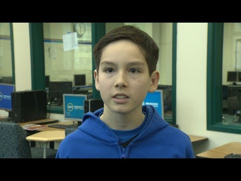 Golda Meir student honored for winning InvestWrite essay contest