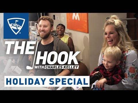 The Hook with Charles Kelley | Holiday Special | Topgolf