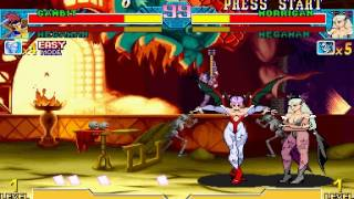 Marvel Vs. Capcom: Clash of Super Heroes (Euro 980123) - Marvel Vs. Capcom origins my favorite team - User video