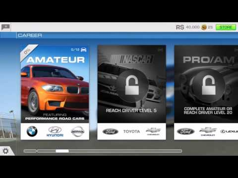 Real Racing 3 UNLIMITED COINS AND UNLOCK ALL CARS WITH EASY CHEAT