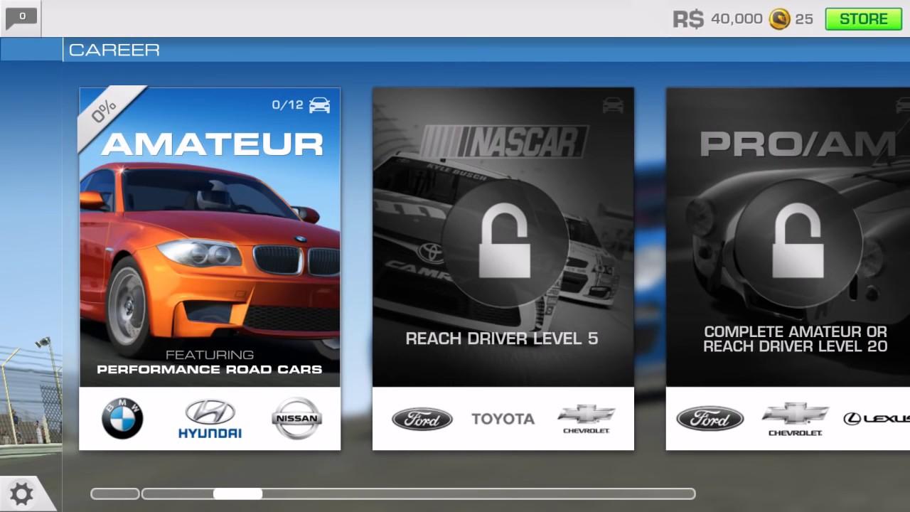real racing 3 download assets stuck
