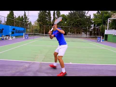 EVAN FRAGISTAS COLLEGE TENNIS RECRUITING VIDEO.