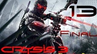 NEW: Прохождение Crysis 3 (HD) -  Часть 13 Финал (Только ты и я!)