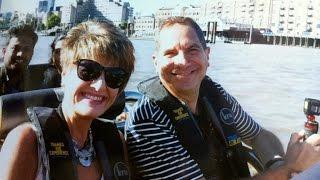 London anniversary trip, including Thames Rib experience   Cliff&Nova