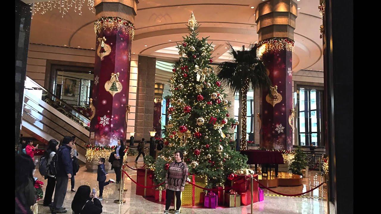 Christmas Decoration 2014 hong kong christmas decoration - central plaza christmas