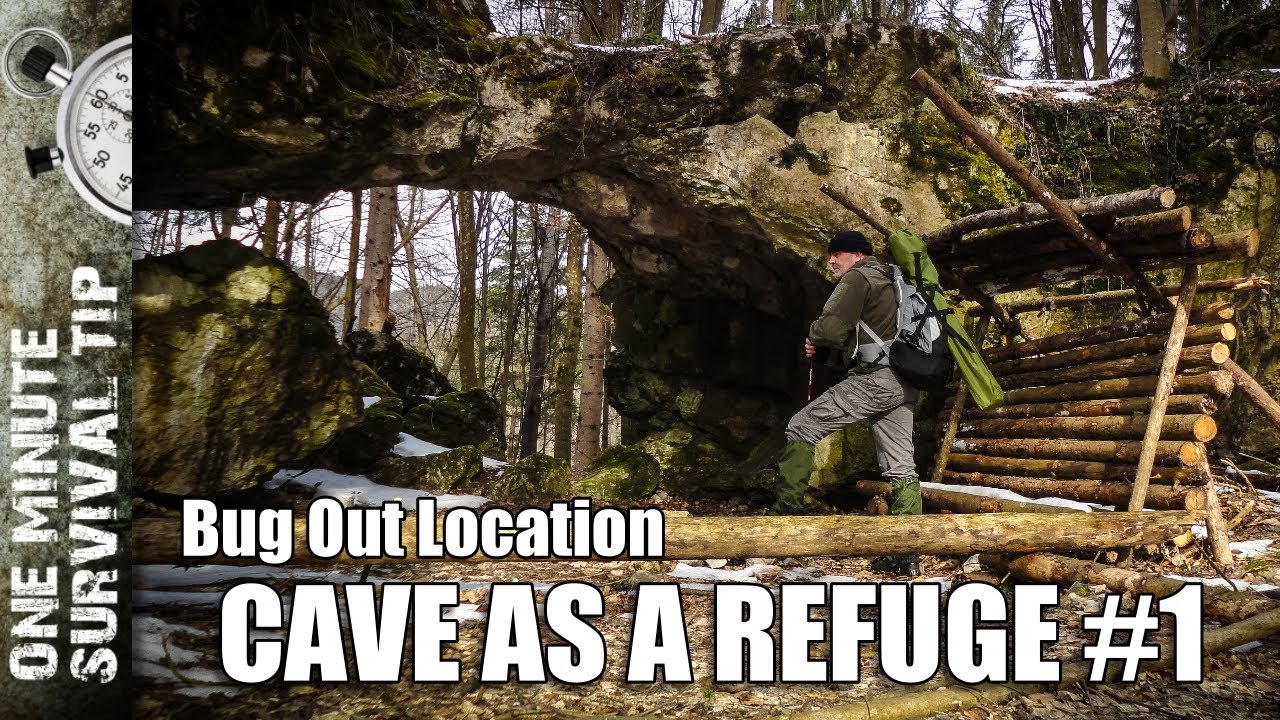 Bug Out Location Design : Bug out location cave as a refuge part one minute