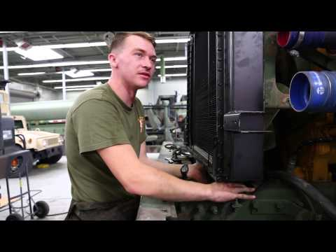 Life as a mechanic: CLR-1 Marine keeps trucks running