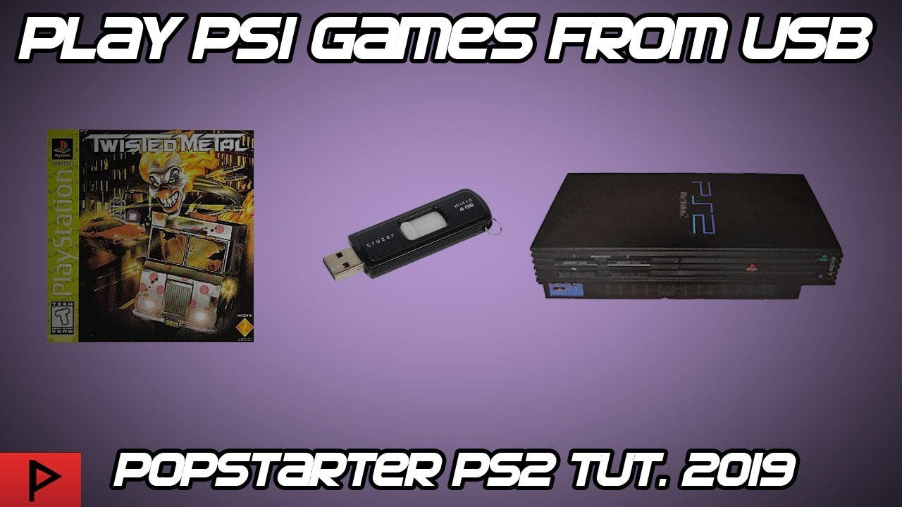 Download Play PS1 Games From PS2 USB Using Popstarter and