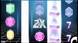 THE GRID, une machine à sous du genre TRON ✇✇✇ Gros Gains ou Torchade ???
